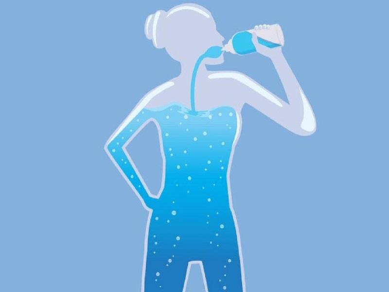 Cơ thể của con người được cấu tạo với hơn 70 phần trăm từ nước