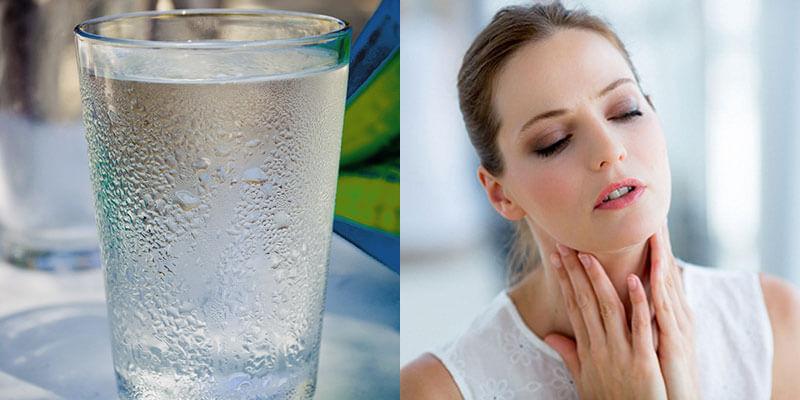 Nước có nhiệt độ trong khoảng 2- 10° C không tốt cho cơ thể