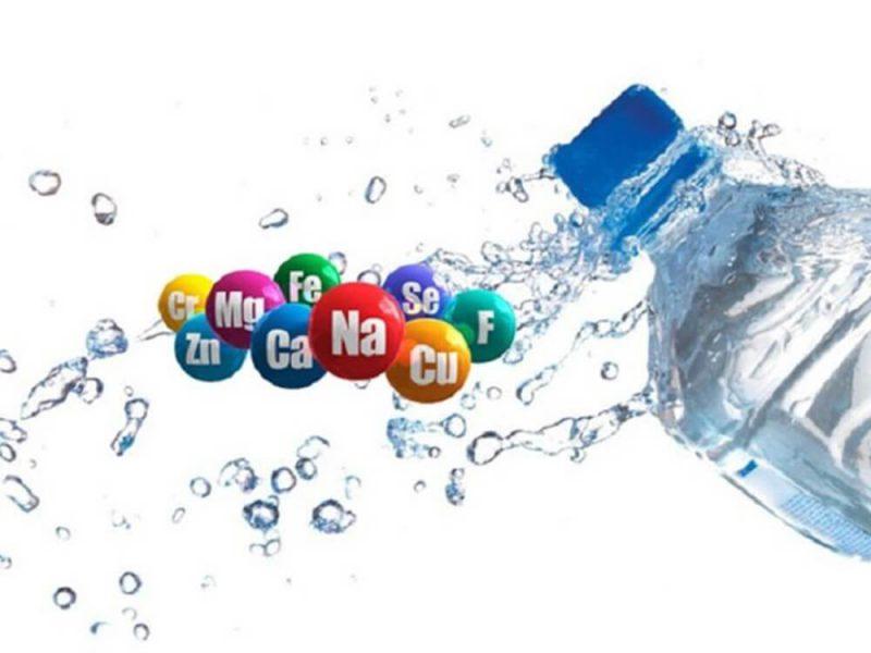 Nước khoáng có nhiều thành phần khoáng chất tốt cho cơ thể