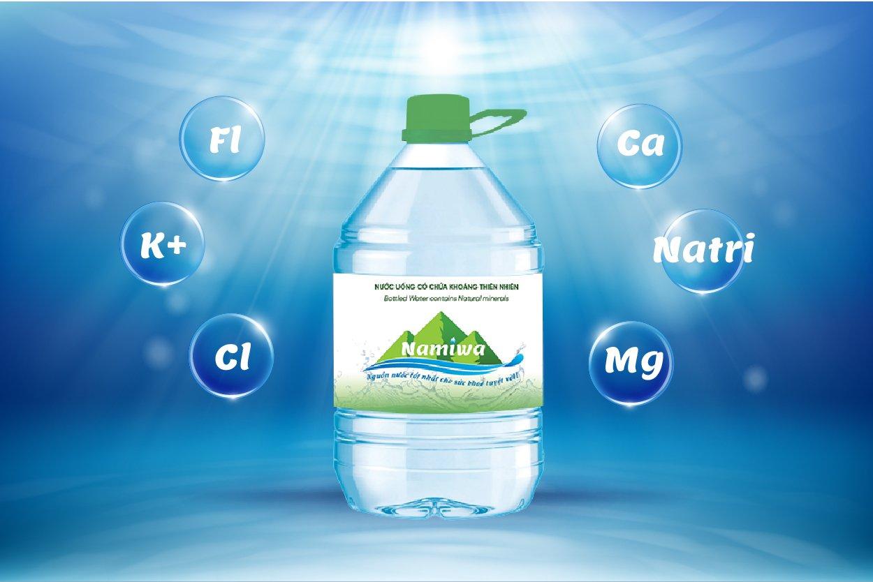 Nước khoáng Namiwa có tác dụng bù đắp nước trong quá trình vận động, chuyển hóa và cung cấp những khoáng chất thiết yếu