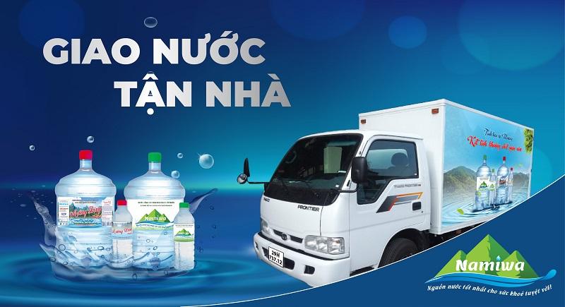 Namiwa cung cấp nguồn nước khoáng thiên nhiên sạch, tốt cho sức khỏe của người sử dụng