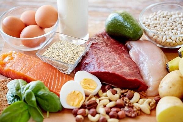 Đa dạng các dưỡng chất trong bữa ăn hàng ngày